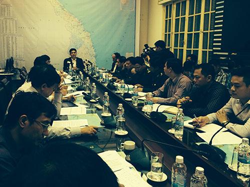 Ban Chỉ đạo phòng chống lụt bão trung ương họp ứng phó với bão số 4 chiều 28-11 tại Hà Nội