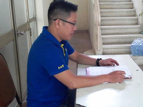 Anh Terence Hồ Ngọc Trí bức xúc về việc Công ty G-III Apparel Group Ltd. cho nghỉ việc trái luật