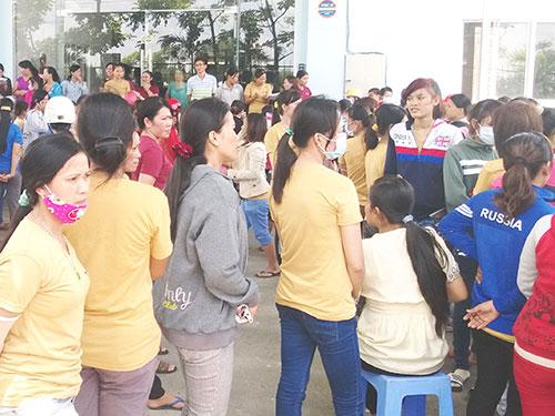 Cuộc tranh chấp lao động tập thể vì lương tại một doanh nghiệp trên địa bàn TP HCM vào tháng 10-2014