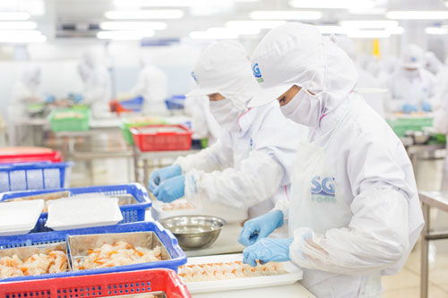 Được tôn trọng và chăm lo về mọi mặt nên công nhân Công ty CP Saigon Food yên tâm làm việc