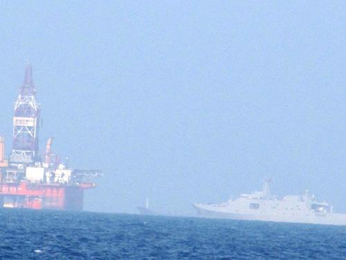 Giàn khoan Hải Dương - 981 hạ đặt trái phép trong thềm lục địa Việt Nam