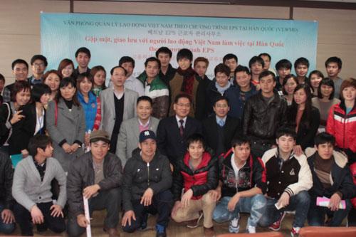 Lao động Việt Nam sang Hàn Quốc làm việc theo chương trình EPS (diện visa E-9)