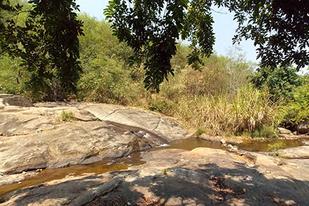Nhiều tảng đá có mặt phẳng lớn, rất lý tưởng cho cắm trại