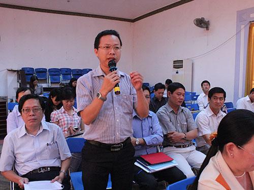 Đại biểu trao đổi ý kiến tại buổi tọa đàm
