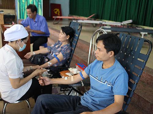 CNVC-LĐ quận Thủ Đức, TP HCM tại Ngày hội Hiến máu tình nguyện