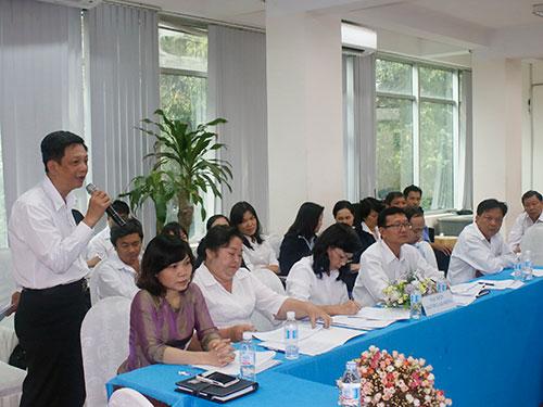 CNVC-LĐ SAWACO đóng góp ý kiến tại chương trình đối thoại chiều 29-12