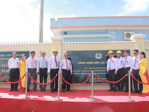 Công trình trạm biến áp 110 KV Bù Đốp và đường dây đấu nối tỉnh Bình Phước