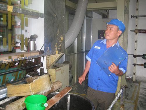 Ông Nguyễn Văn Hòa, Công ty CP In nhãn hàng Liksin, đoạt Giải thưởng Tôn Đức Thắng năm 2013