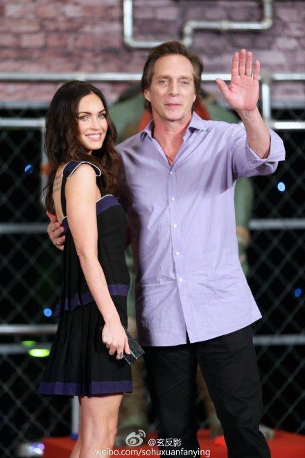 Megan Fox và đồng nghiệp William Fichtner