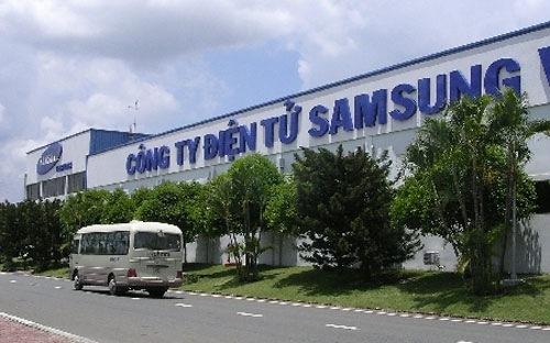Nhà máy đầu tiên của Samsung ở TP HCM được xây dựng vào năm 1995