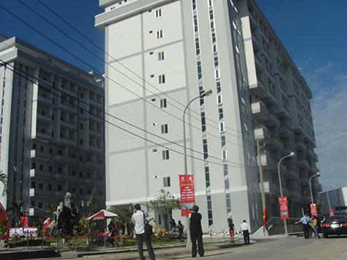Khu nhà lưu trú thuộc KCX Linh Trung II giải quyết chỗ ở cho 2.400 công nhân