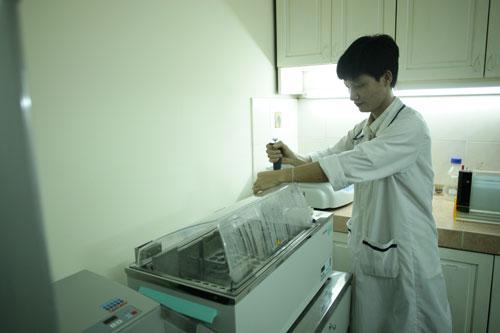 Xét nghiệm ADN tại Trung tâm ADN của GS Lê Đình Lương