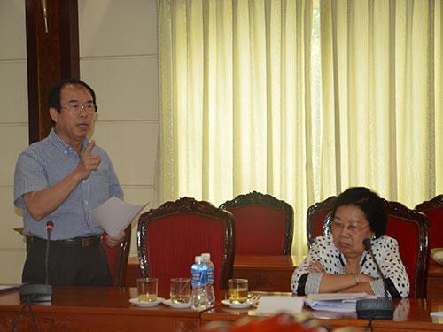 Nguyên Phó Chủ tịch UBND TP HCM Nguyễn Thành Tài kiến nghị tăng quyền cho người đứng đầu