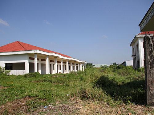 Khu đất mà UBND tỉnh Tiền Giang đã cấp cho Công ty TNHH Thiên Nam Phương