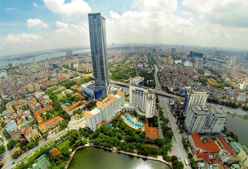 Một góc của Thủ đô Hà Nội Ảnh: HOÀNG HÀ