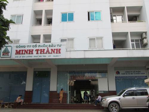 120 căn hộ tại chung cư Minh Thành, quận 7, TP HCM đến nay vẫn chưa có chủ quyền