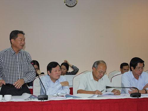 Đại biểu Nguyễn Bá Thuyền đề nghị Chính phủ cần cân nhắc việc quản lý tòa án địa phương