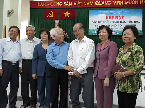 Chủ tịch UBND TP HCM Lê Hoàng Quân thăm hỏi, động viên đồng bào người Hoa