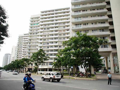 Khu đô thị Phú Mỹ Hưng, quận 7, TP HCM Ảnh: TẤN THẠNH