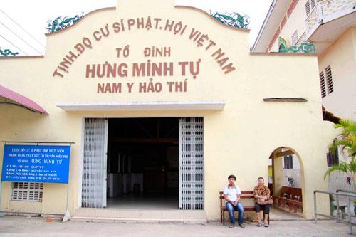 Tổ đình Hưng Minh tự Ảnh: HOÀNG TRIỀU