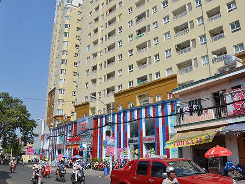 Nhiều người mua căn hộ cao ốc Âu Cơ, TP HCM phải đóng thêm tiền do diện tích bỗng dưng tăng thêmẢnh: TẤN THẠNH