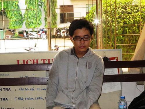 Hung thủ Trần Nhật Duy tại cơ quan công an Ảnh: Tân Tiến