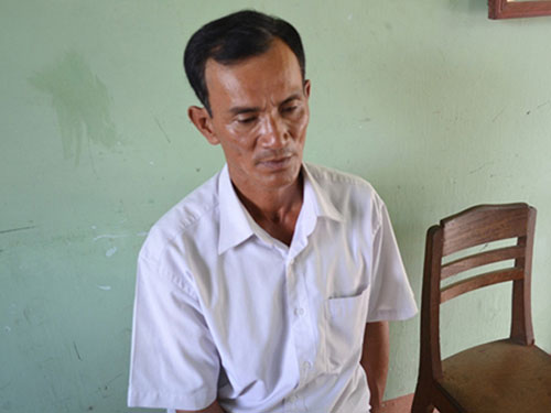 """Nguyễn Hữu Phước bị Công an tỉnh Quảng Ngãi bắt khi giả danh cán bộ công an để """"làm từ thiện"""""""