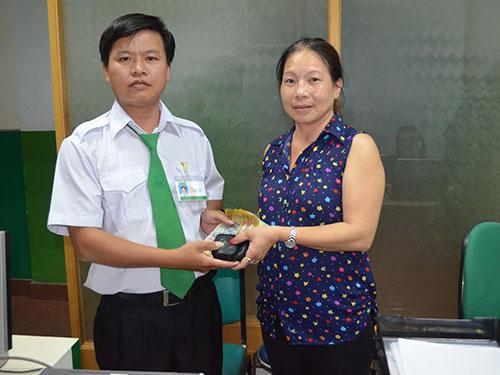 Anh Mã Văn Tuyến trả lại tài sản cho chị Trịnh Thị Xuân Diệu