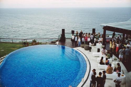 Một góc lễ cưới ở Bali