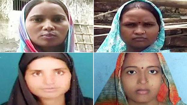 Những cô dâu bỏ về nhà mẹ đẻ vì nhà chồng thiếu phòng vệ sinh. Ảnh: BBC