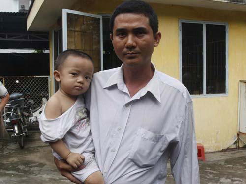 Anh Lê Văn Hiền phải tốn nhiều thời gian, công sức mới được thi hành án Ảnh: Phạm Dũng