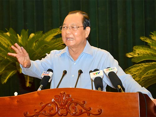 Bí thư Thành Ủy TP HCM Lê Thanh Hải: