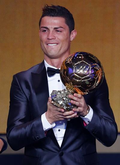 Quả bóng vàng FIFA 2013 Ronaldo