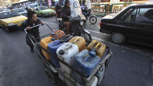 Lệnh trừng phạt cứng rắn của Mỹ nhằm vào lĩnh vực năng lượng của Iran  Ảnh: IDEA STREAM
