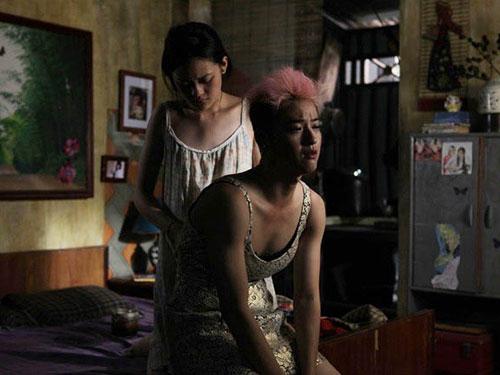 Cảnh trong phim Đập cánh giữa không trung của nữ đạo diễn  Nguyễn Hoàng Điệp Nguồn: FILMTV.IT