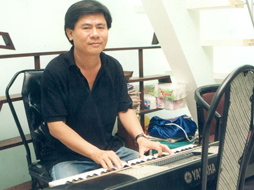 Nhạc sĩ Minh Tâm khi chưa lâm bệnh