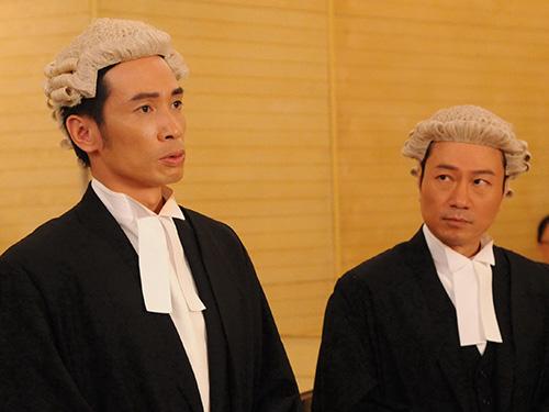 Cảnh trong phim Đại luật sư tranh tài Ảnh: HTV2