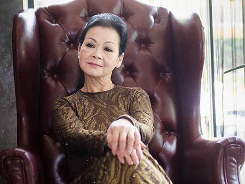 Ca sĩ Khánh Ly Ảnh: CHÍ LINH
