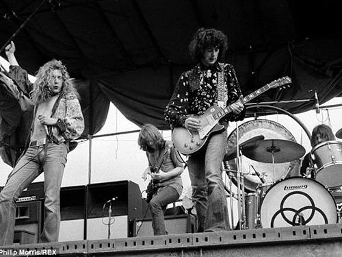 Ban nhạc Led Zeppelin thời hoàng kim Nguồn: REX
