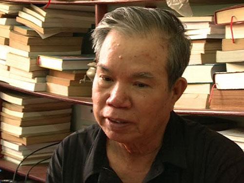 Nhà văn Ma Văn Kháng. (Ảnh do nhân vật cung cấp)