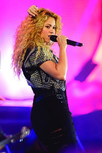 Nữ ca sĩ Shakira Nguồn: WireImage