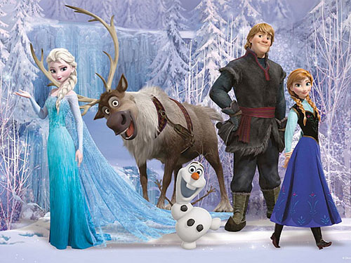 Các ca khúc của các nhân vật trong phim Frozen (ảnh) vẫn chưa giảm sức hút. Nguồn ảnh: Disney