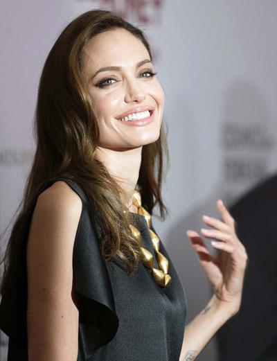 Angelina Jolie là gương mặt nữ duy nhất lọt vào tốp 10 diễn viên kiếm nhiều tiền nhất của Hollywood Nguồn: Reuters