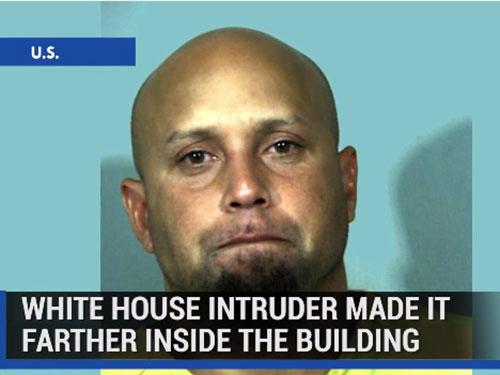 Cựu chiến binh Omar Gonzalez sau khi xâm nhập Nhà Trắng Ảnh: Tomo News