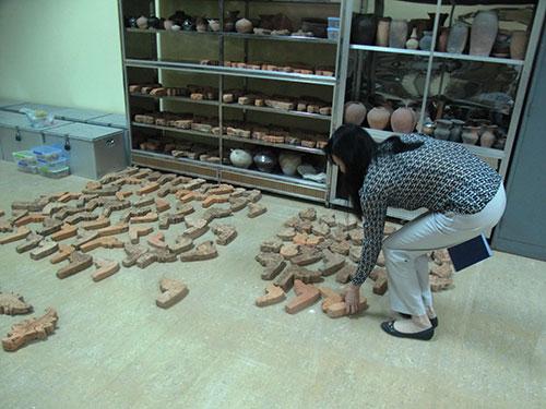Các hiện vật ở Bảo tàng tỉnh Phú Yên hiện nay chủ yếu mang giá trị văn hóa Ảnh: HỒNG ÁNH