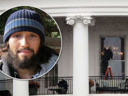 Hung thủ và căn phòng ở tầng 2 Nhà Trắng sau vụ nổ súng đêm 11-11-2011 Ảnh: THE COMING CRISIS