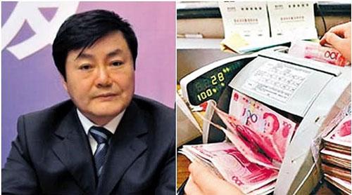 4 máy đếm tiền bị hỏng khi kiểm kê tiền mặt trong nhà Ngụy Bằng Viễn. Ảnh: INTERNET
