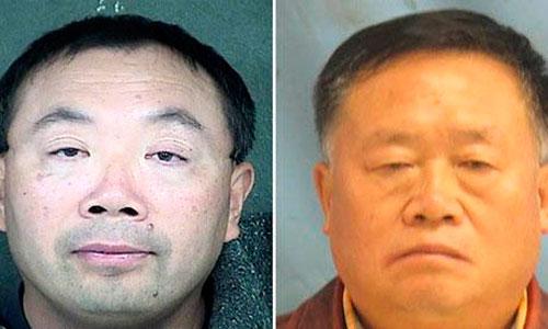 Hai tiến sĩ Weiqiang Zhang và Wengui Yan đã bị khởi tố về tội ăn cắp bí mật thương mại của Mỹ Ảnh: FBI