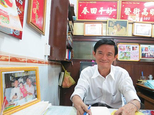 Nhà đông anh em nhưng lương y Thái Kiệt là người duy nhất nối nghiệp cha