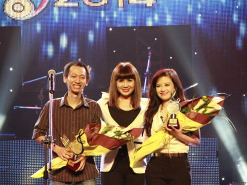 Chương trình Bài hát Việt, nơi tôn vinh nhiều sáng tác trẻ. (Ảnh do chương trình cung cấp)